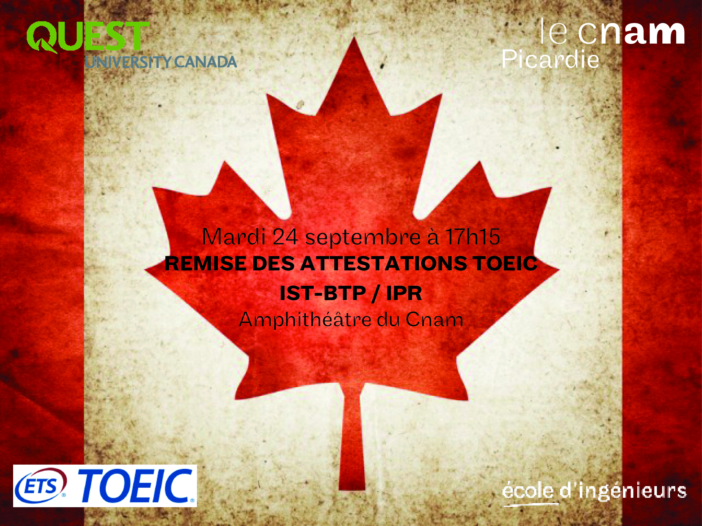 Remise Diplome Toeic